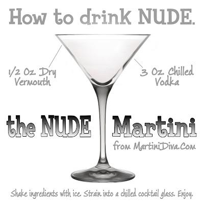 NUDE MARTINI Cocktail Recipe