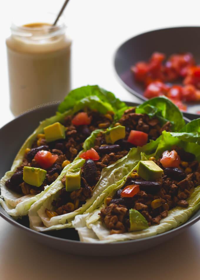 Vegan tacos  danceofstoves.com