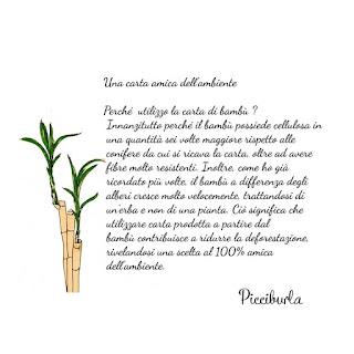 Io uso carta di bambù