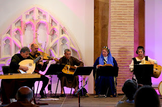 Concert Menestrils música medieval CIMM Centre Internacional de Música Medieval de la Valldigna