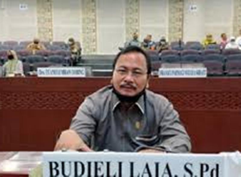 Anggota Dewan Perwakilan Rakyat Daerah (DPRD) Sumatera Utara (Sumut) dari Fraksi PDIP, Budieli Laia