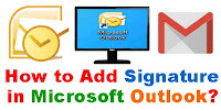 How to Add Signature in Outlook?