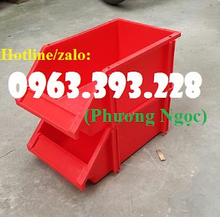 Khay nhựa vát đầu, kệ dụng cụ xếp chồng,khay đựng linh kiện, kệ dụng cụ A8  Acc9be497f3f9a61c32e
