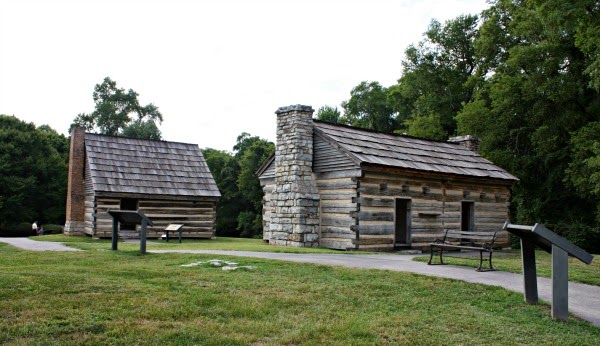 Slave quarters at The Hermitage.