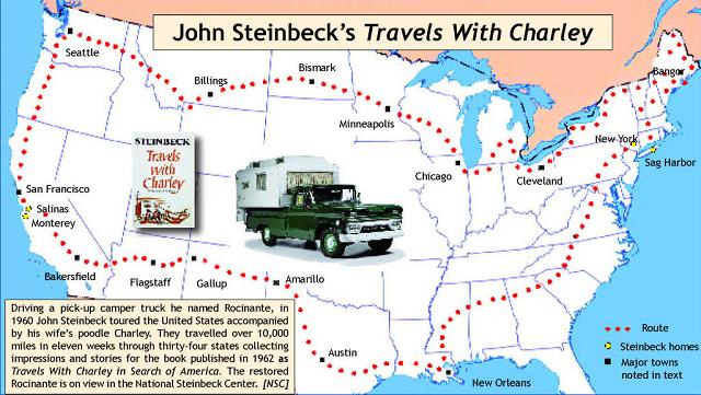 Viatge amb autocaravana de John Steinbeck