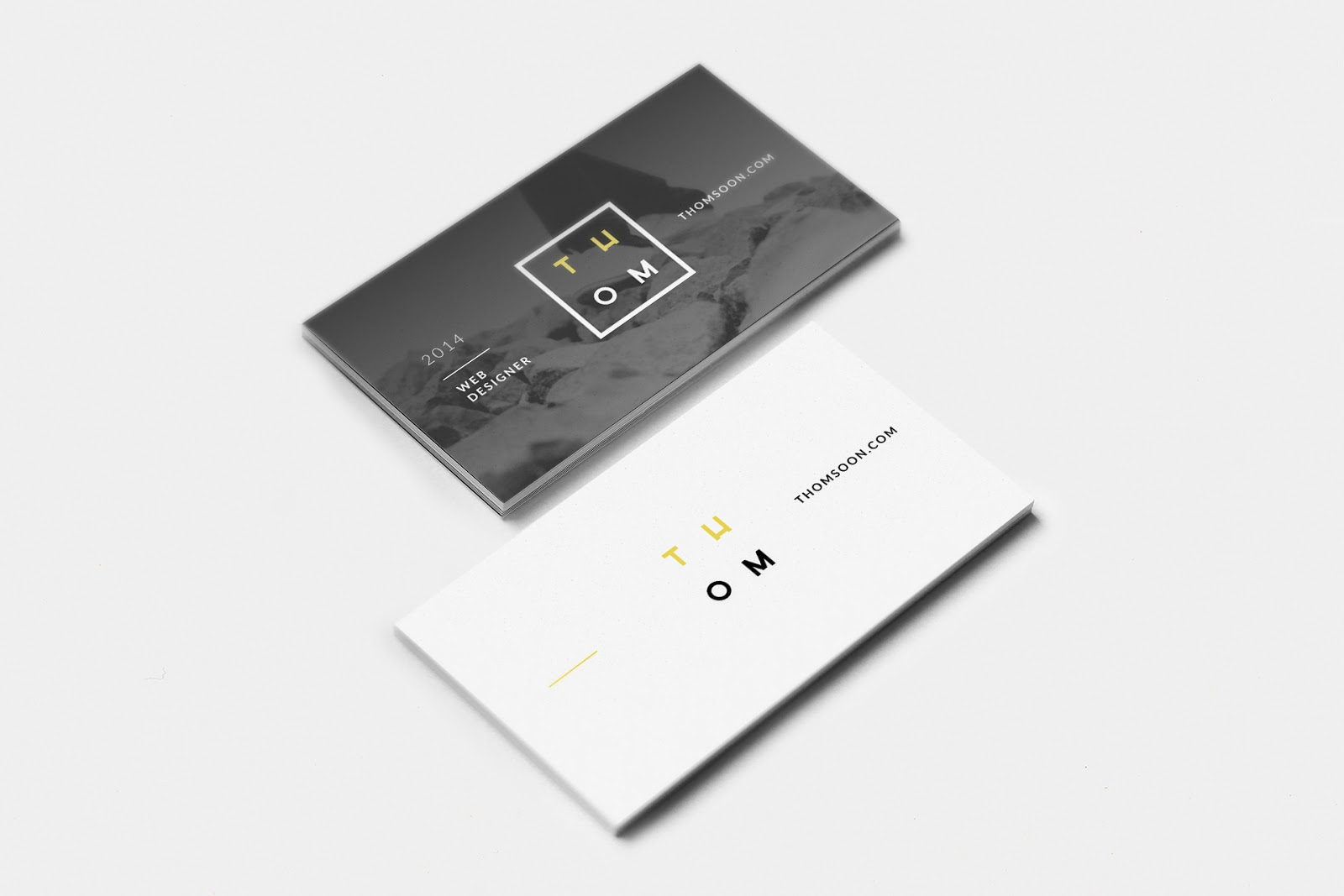 Free Business Card Mockups, Free Business Card