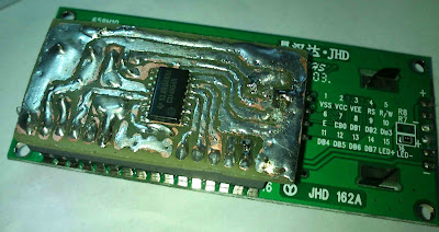 16x2 Serial LCD  (Two Wire) with PIC12F675 17