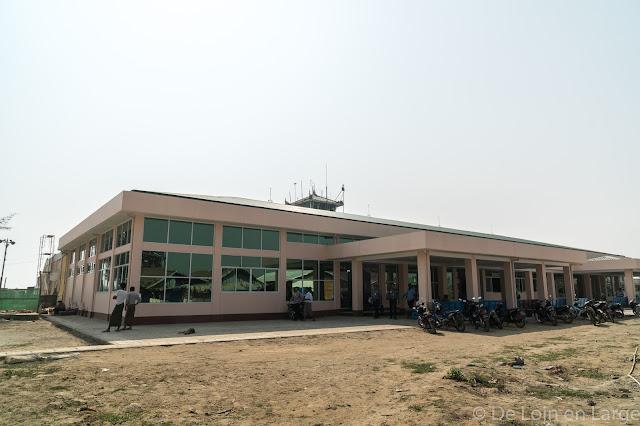 Aéroport Sittwe-Birmanie-Myanmar
