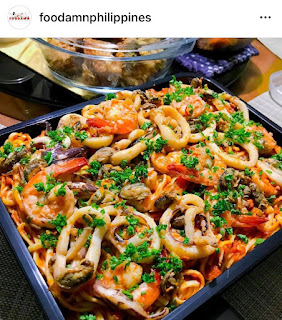 Marinara Pasta Recipe by Foodamn Philippines