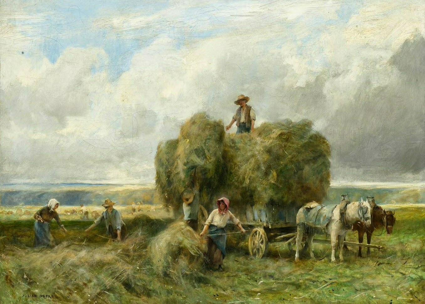 Peinture Française du 19ème Siècle: Julien Dupré