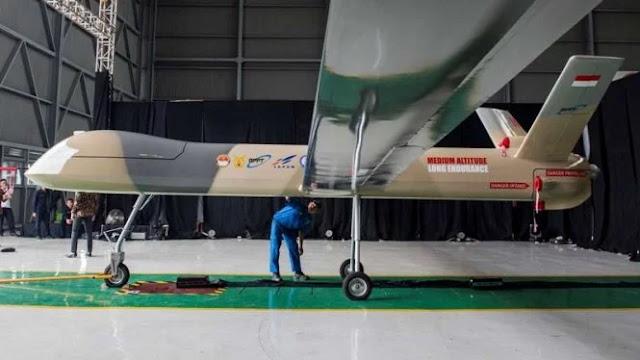 Disaksikan Prabowo dan Jokowi, Elang Hitam Siap Lawan Drone China