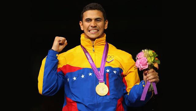Ruben Limardo medallista de Oro en Londres 2012