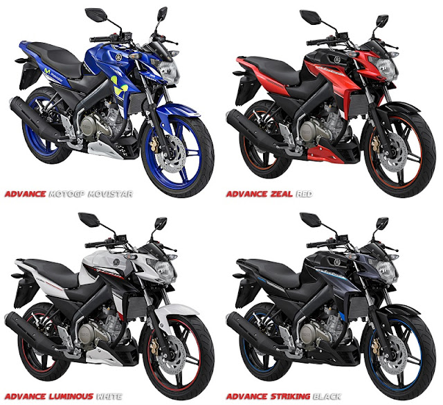 Spesifikasi Yamaha New Vixion Advance Terbaru