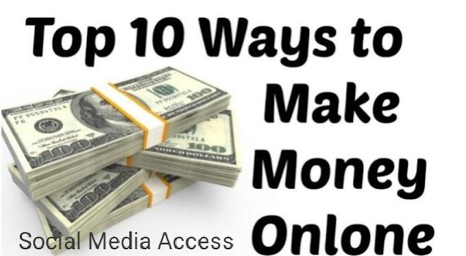 10 Earn Money Online