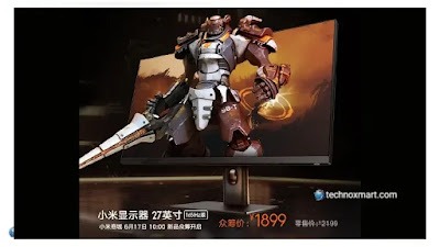 Xiaomi 27-Inch Monitor For Gaming Launched With 165Hz Refresh Rate