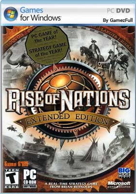 Descargar Rise of Nations pc full español mega, mediafire y google drive.