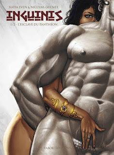 Inguinis - L'esclave du Panthéon - tome 1 aux éditions Tabou