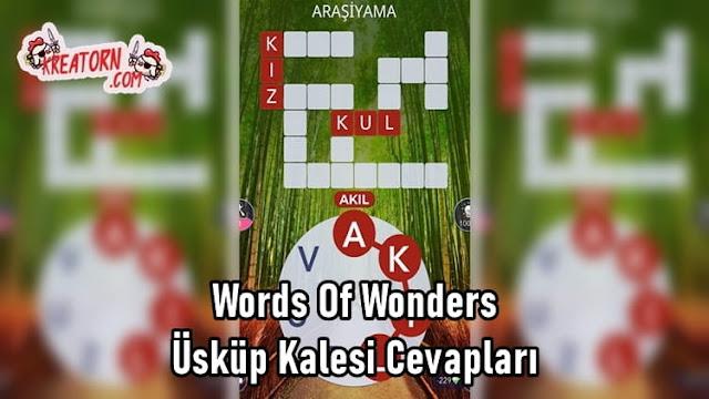 Words-Of-Wonders-Uskup-Kalesi-Cevaplari
