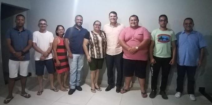 Presidente do Solidariedade-RN participa de encontro com pré-candidatos em Angicos