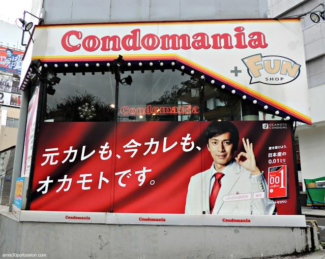 Tienda de Condones en Tokio