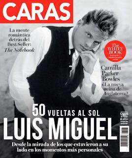 Portada Caras Abril 2020 Luis Miguel