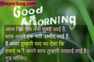 Good Morning Shayari Love Image