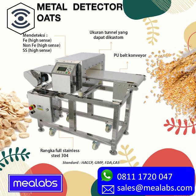metal detector oats