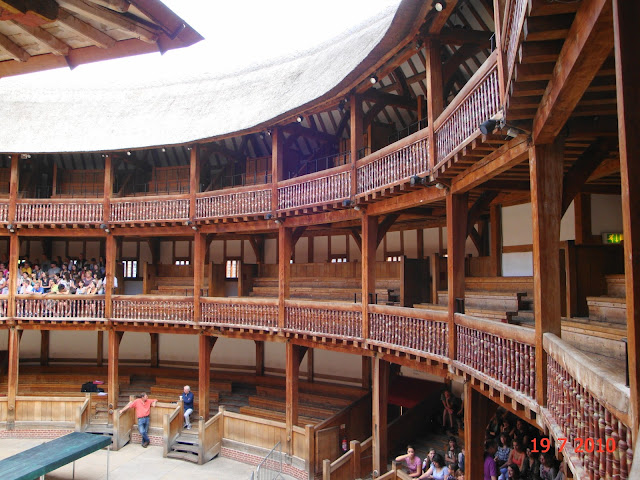 Shakeapeare Globe Theatre em Londres