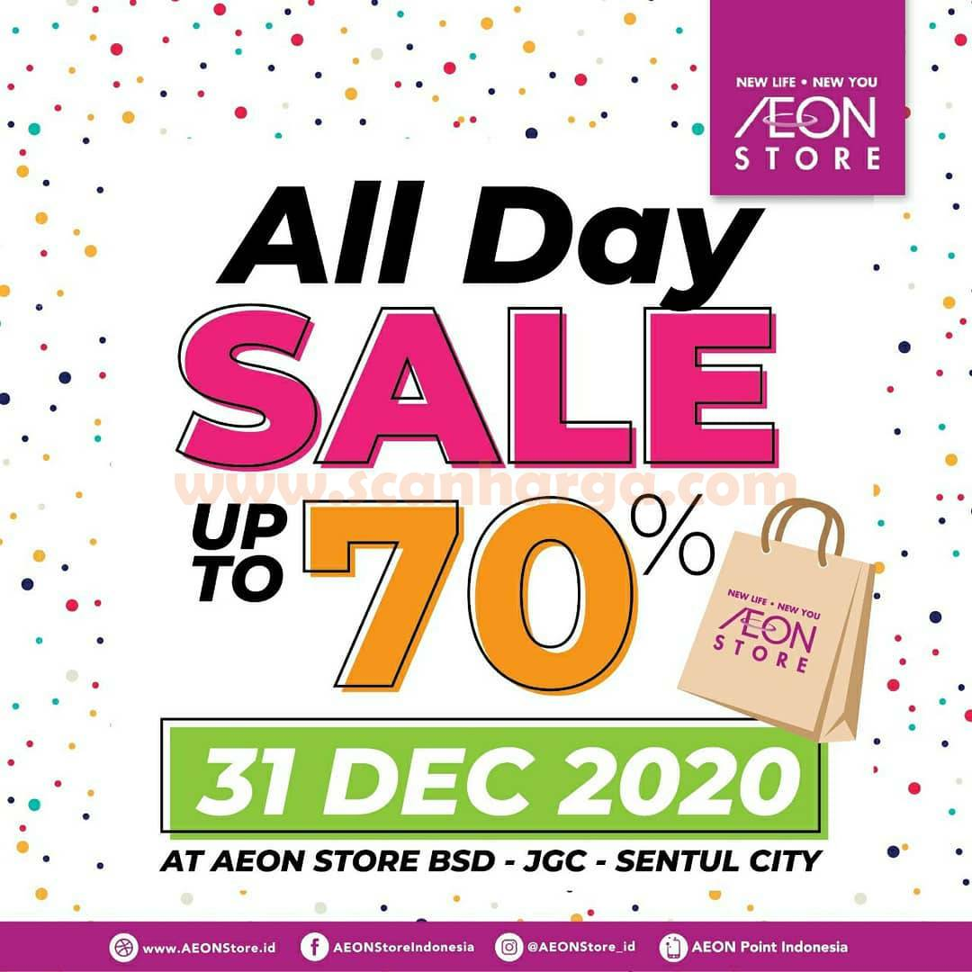 AEON STORE ALL DAY SALE up to 70% Off