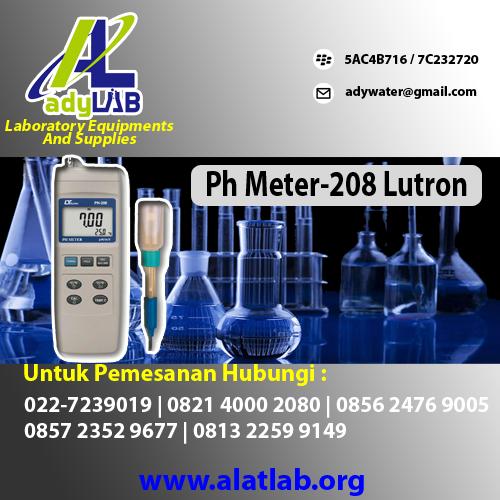 H Meter type pH-208