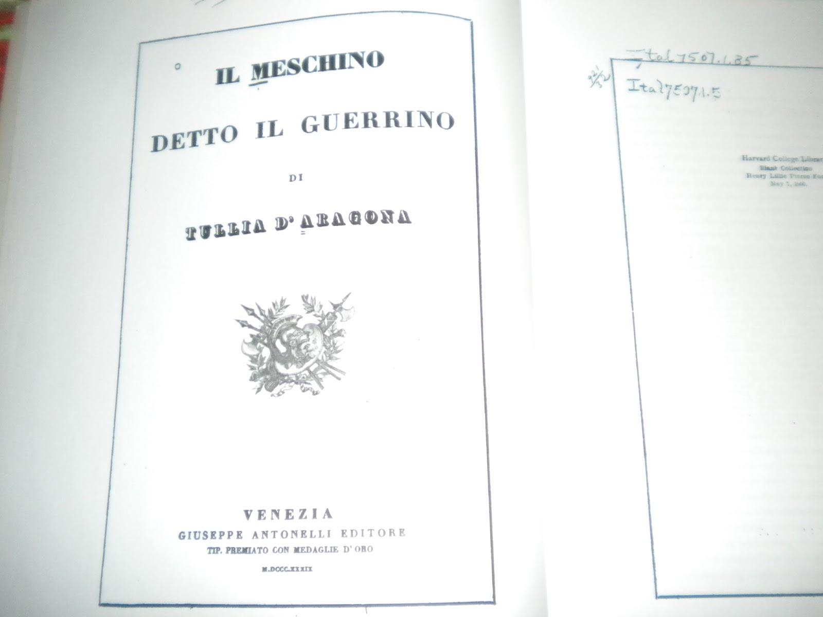 Il Guerrino scritto in prosa dal Barberino viene portato in ottava da una  donna del rinascimento una figura quasi a tutti sconosciuta 4eaf6e7cc5d8