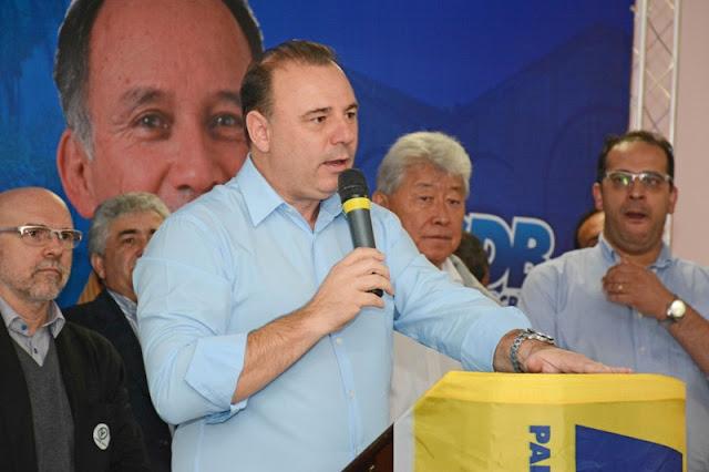 Partidos oficializam apoio à reeleição do Prefeito Gilson Fantin