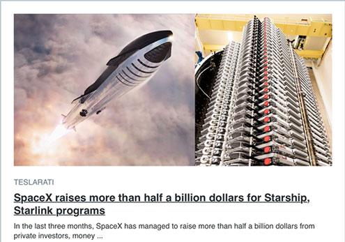 SpaceX has raised over half a billion dollars in three months (Source: Teslarati)