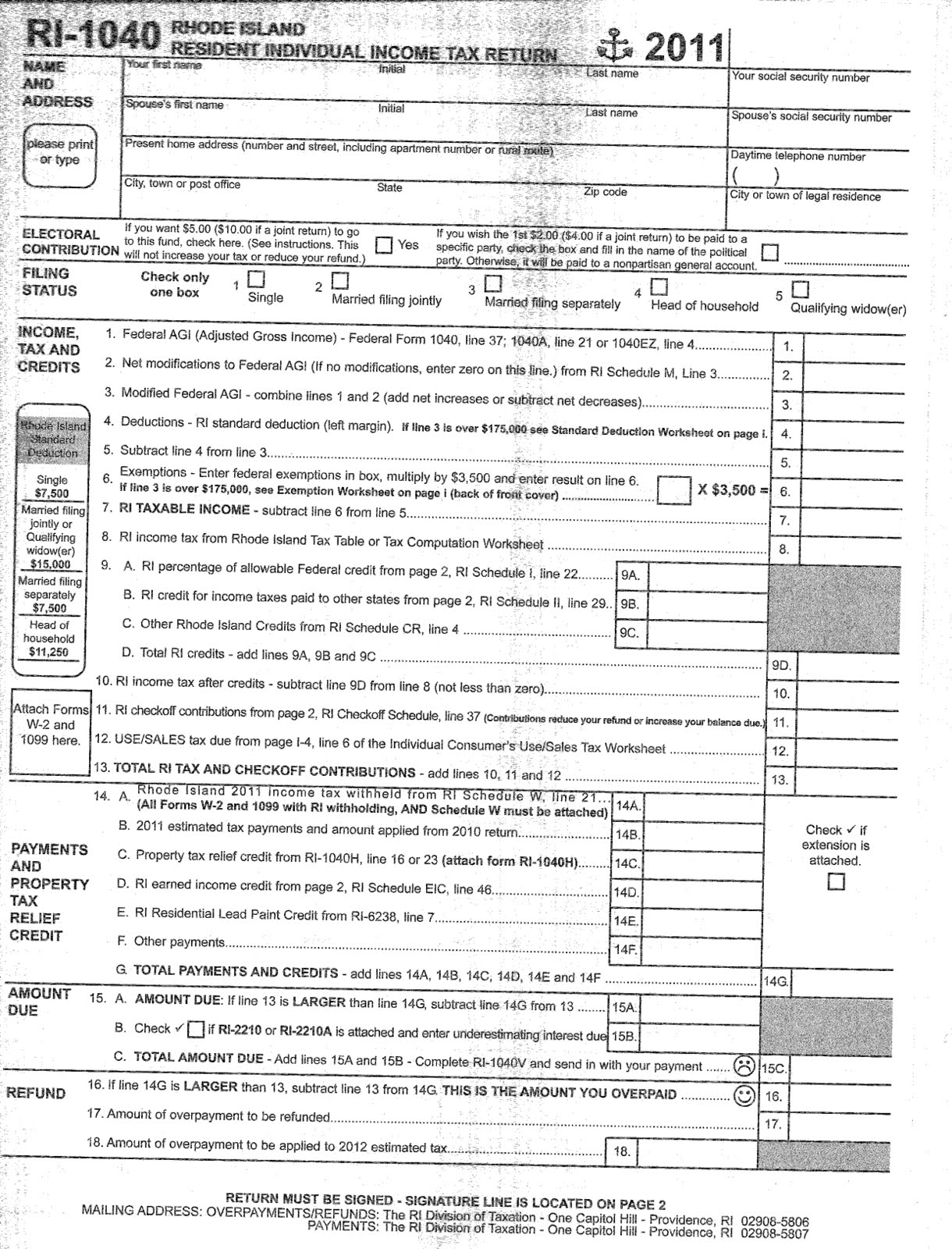 Rhode island tax table napma 1040 instructions tax table 2010 form irs schedule c falaconquin