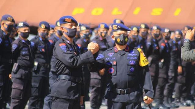 200 Brimob Maluku Dikirim ke Jakarta, Amankan Aksi Tolak Omnibus Law