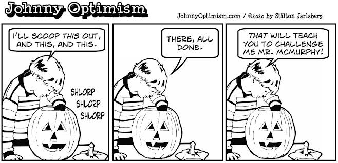 johnny optimism, medical, humor, sick, halloween, jokes, boy, wheelchair, doctors, hospital, stilton jarlsberg, halloween, pumpkin, jack o'lantern, lobotomy, cuckoo's nest, nurse ratched