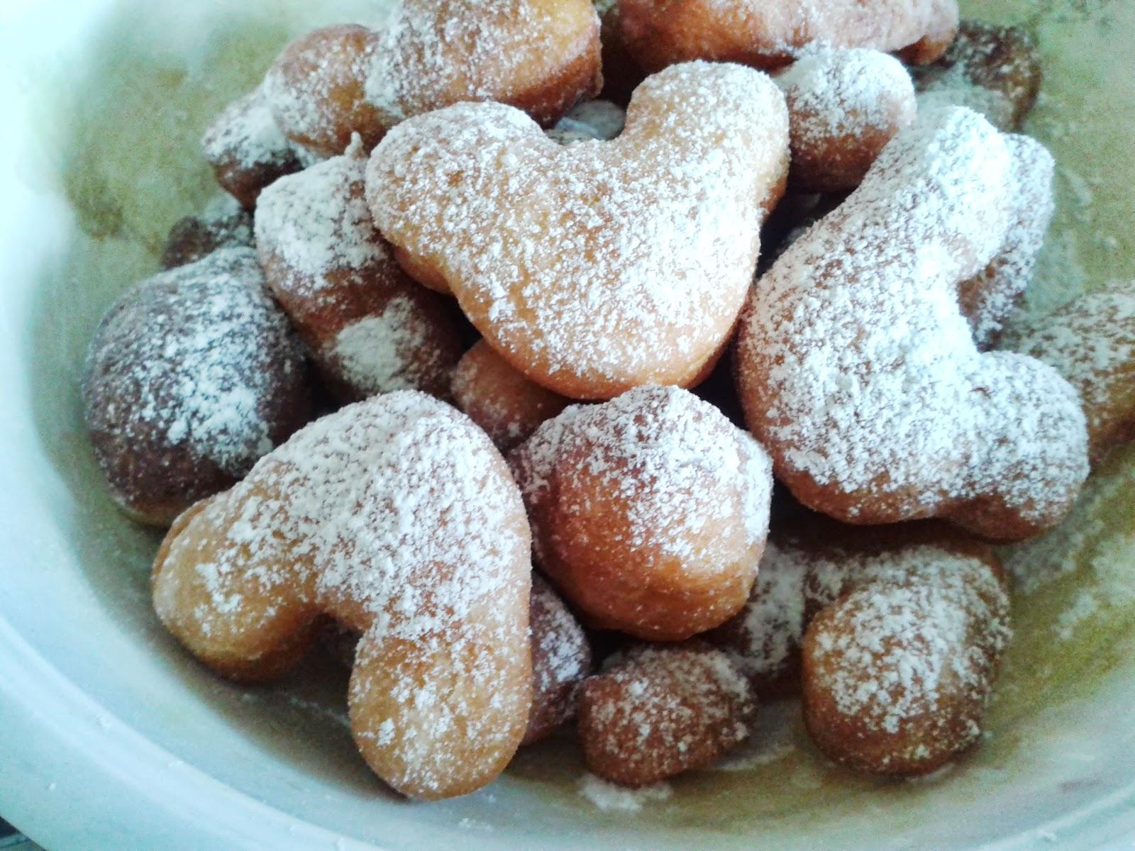 Donut Ni Sy Buat Bentuk Mikey Supaya Dapat Menarik Minat Anak Tok Mkn