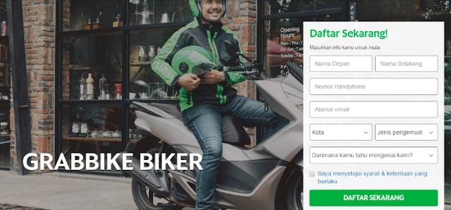 Cara Daftar GrabBike Online Terbaru 2019, Jadilah Driver Grabbike!
