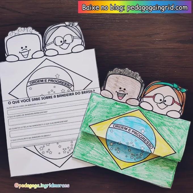 DIA DA BANDEIRA: ATIVIDADE INTERATIVA O QUE VOCÊ SABE SOBRE A BANDEIRA DO BRASIL