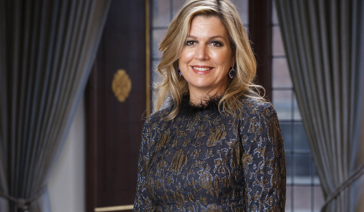 Queen Máxima attended a virtual meeting with Amsterdam UMC