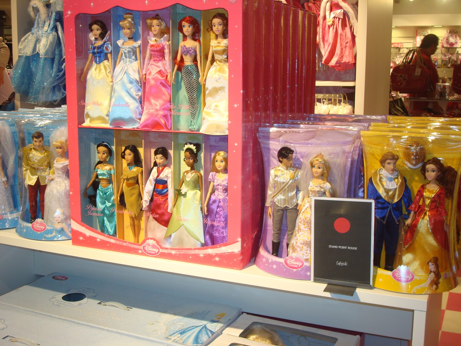 mini princesses disney cendrillon de mattel. Black Bedroom Furniture Sets. Home Design Ideas