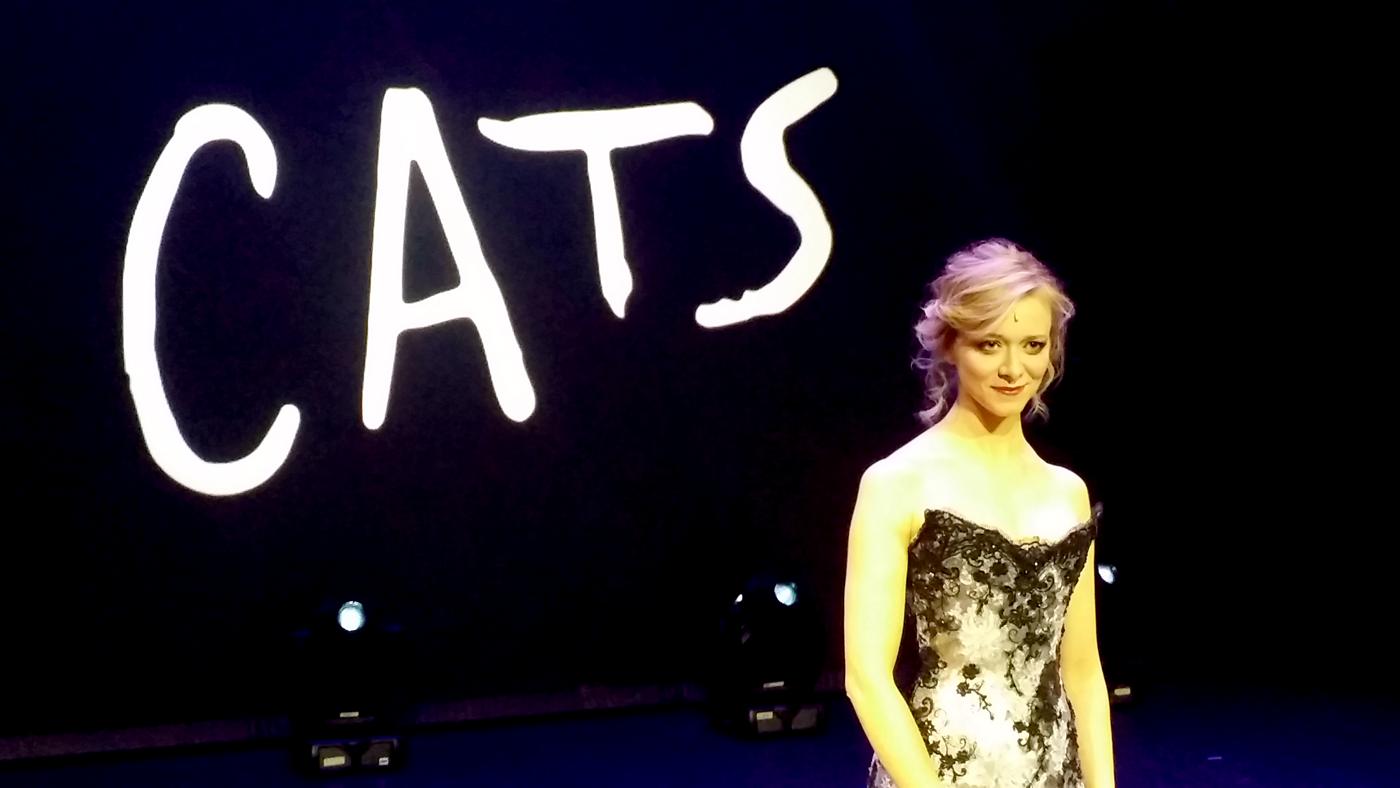 Prisca Demarez, Grizabelle du musical Cats à Mogador