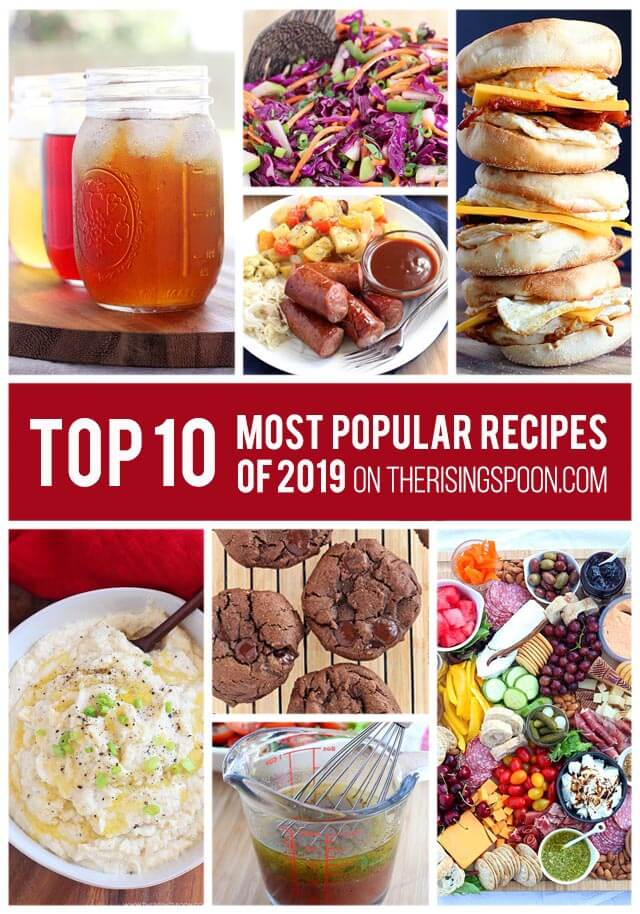 Top 10 Most Popular Recipes On The Rising Spoon in 2019