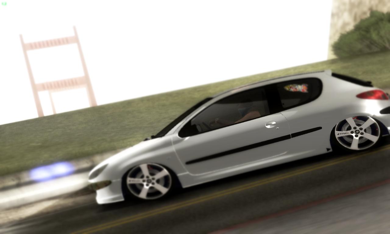 Ekipe Gta Cars 176 ★ Gta Sa Peugeot 206