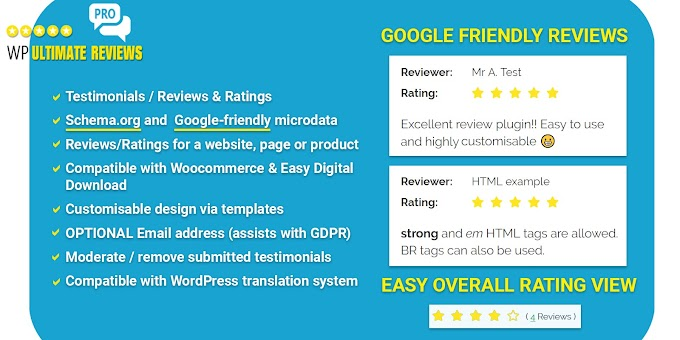 Free WP Ultimate Reviews Pro Download with GPL