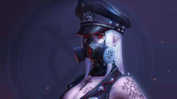 Cyberpunk, Anime, Girl, Red Eye, Gas Mask, Sci-Fi, 4K, #6.2582