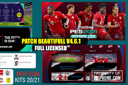 PATCH PES 2020 MOBILE BAYERN MUNCHEN V4.6.1 BY IDSPHONE
