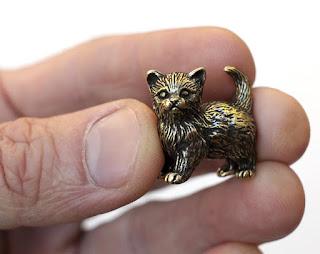 подарки на новый год 2017 симферополь миниатюрные фигурки кошек из бронзы
