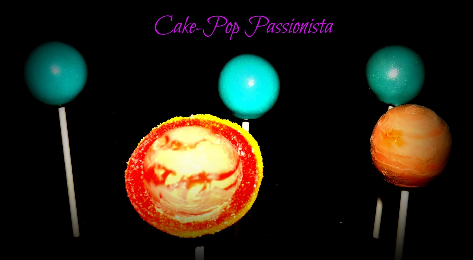 Solar System Cake Balls - Pics about space