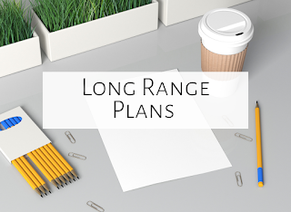 Types of long range plans for the music room
